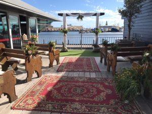 The Deck, Fremantle. Wedding Venue.