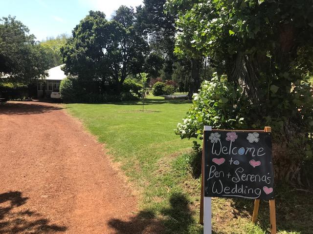 Bickley Valley Wedding Venue