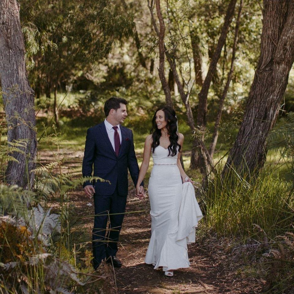 Perth winery wedding